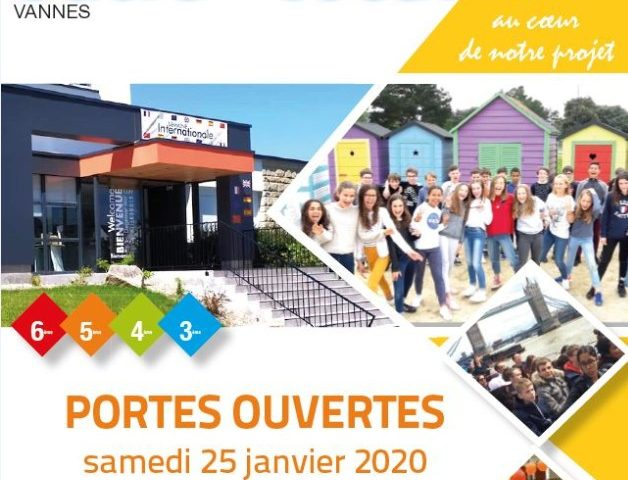 Collège sacré Coeur Vannes journées portes ouvertes 25 janvier 2020