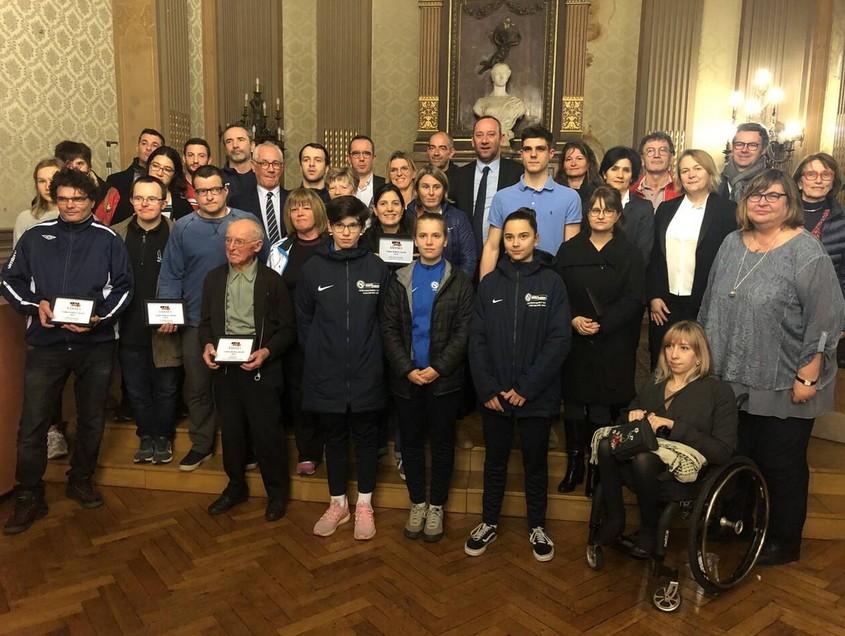 Ville de Vannes met des sportifs du collège du Sacré Coeur à l'honneur